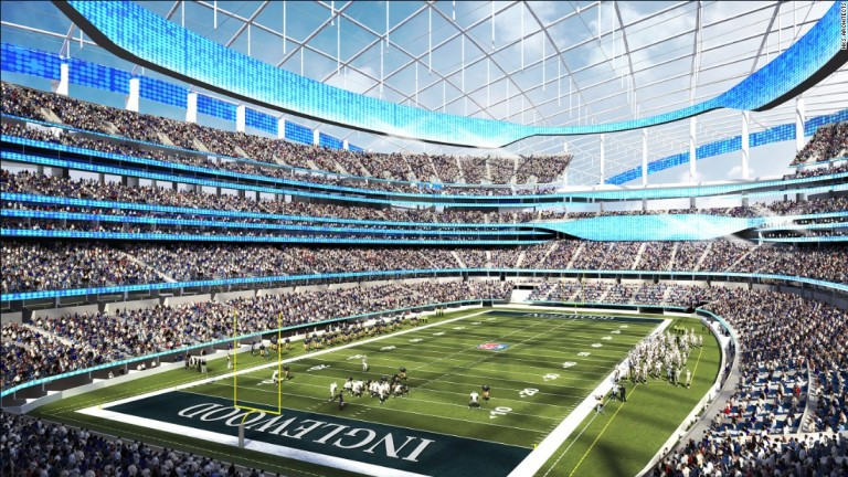 Los Angeles To Build World's Most Expensive Stadium Complex   CNN
