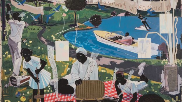 Entrepreneur/Rapper Diddy buys $21.1m Kerry James Marshall Painting