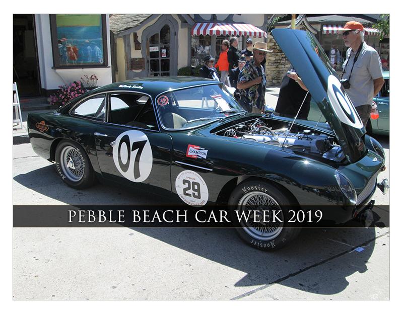 Pebble Beach Car Week 2019 | Classic Car Chat