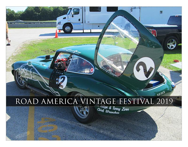 Elkhart Lake Vintage Festival 2019 Road America | Classic Car Chat