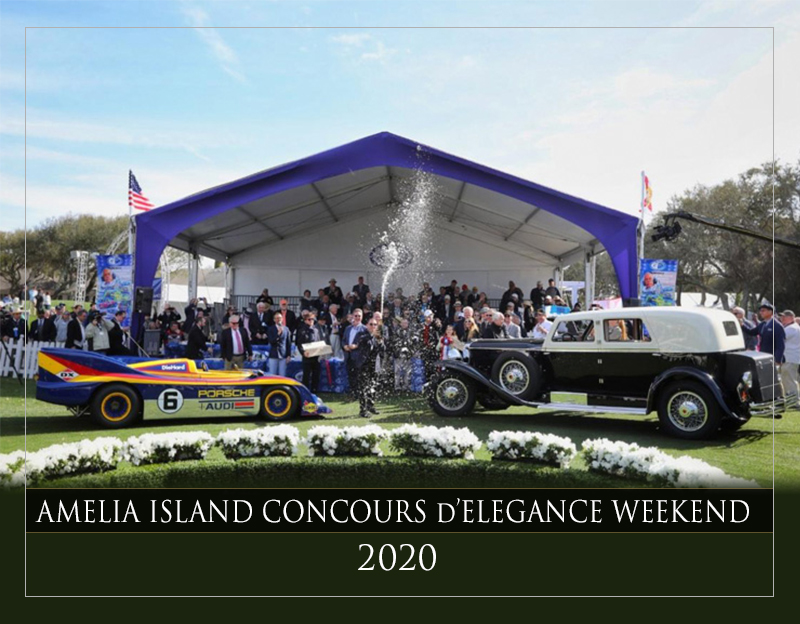 Amelia Island Concourse d'Elegance Weekend March 5-8, 2020 | Classic Car Chat