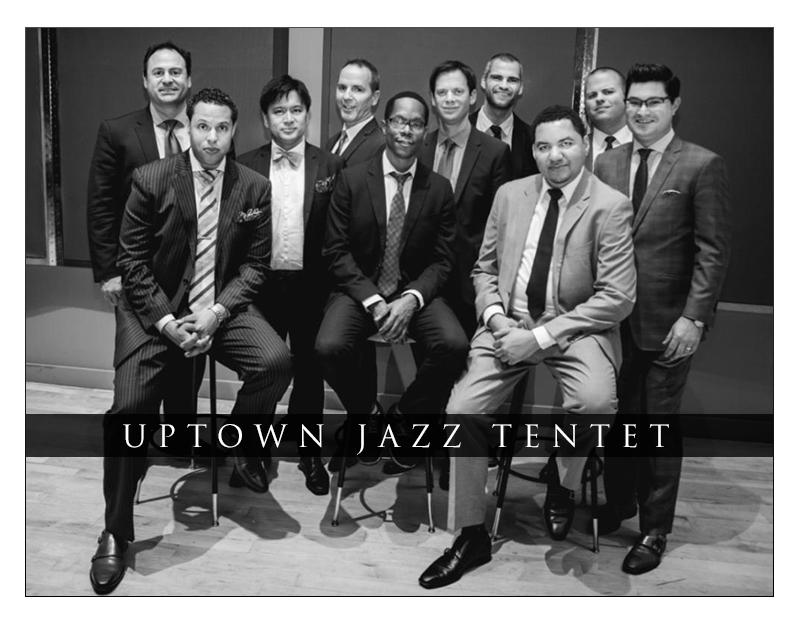 Uptown Jazz Tentet What's Next Release Date: October 1st