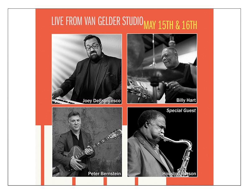 """""""Live from Van Gelder Studio""""Featuring Joey DeFrancesco & All-Star Band"""