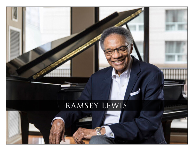 GRAMMY® Award-winning Pianist and NEA Jazz Master Ramsey Lewis Announces Second Season Of Saturday Salon